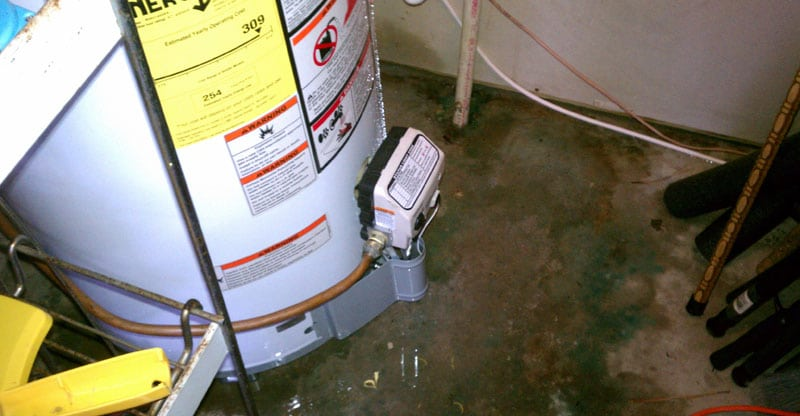 leak at bottom no hot water in the house? (here's what to do) hot water heater fuse box at webbmarketing.co
