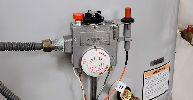 how to replace your water heater gas control valve