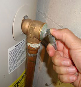 How to replace water heater relief valve