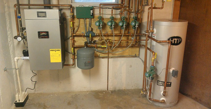 indirect hot water heater