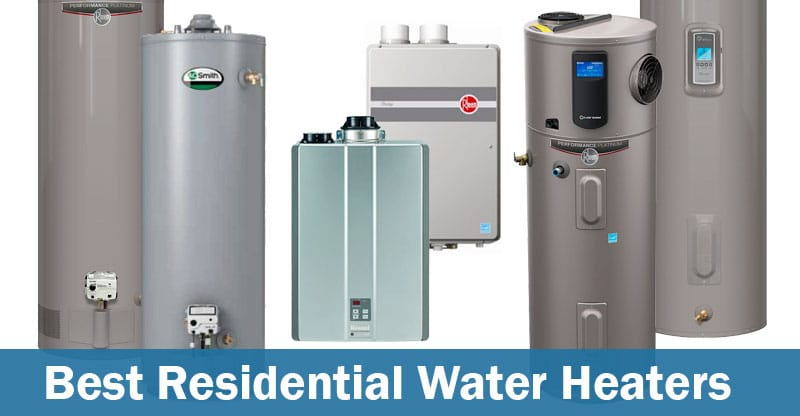Best Water Heaters for Residential Use | Water Heater Hub