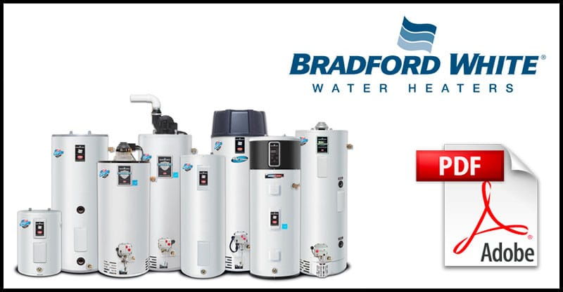 Bradford White Water Heater Manuals Water Heater Hub