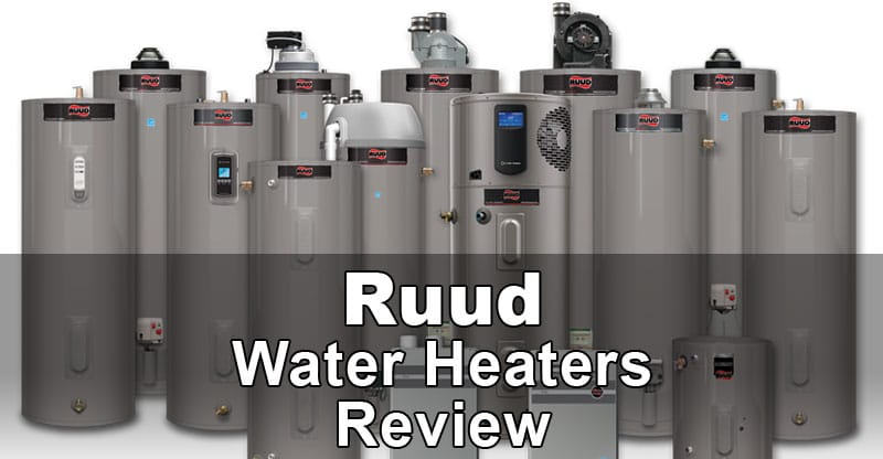 Ruud Water Heaters Review Water Heater Hub