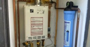tankless water heater filter