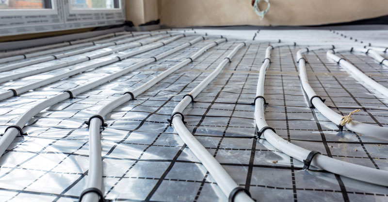 Hydronic Radiant Floor Heating Systems Pros Cons Types Cost