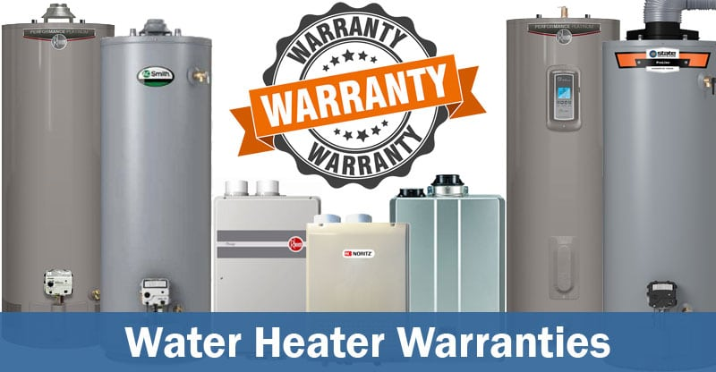 water heater warranty comparison