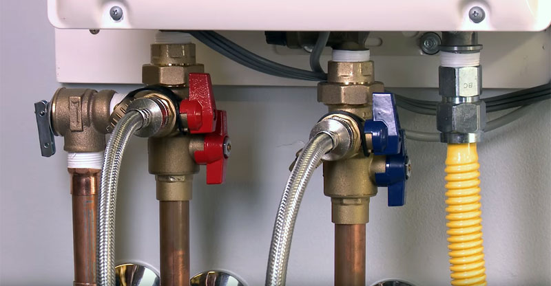 how to flush tankless water heater