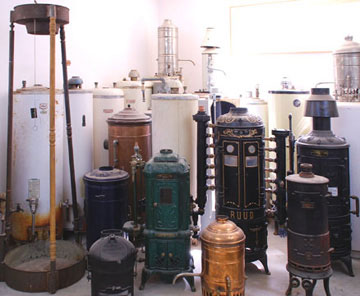 old water heaters