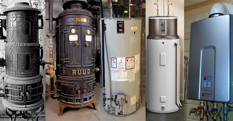water heater history