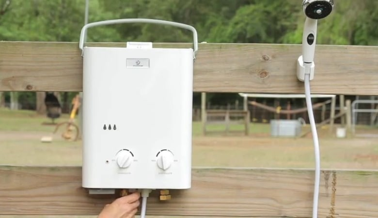 Tankless Outdoor Water Heater