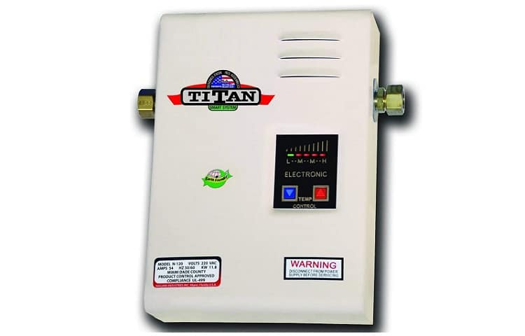 Titan Electric Tankless Water Heater Review