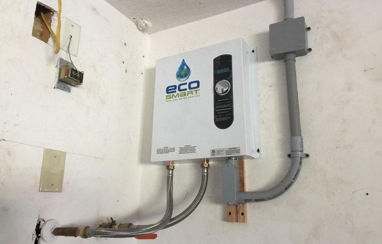 ecosmart eco 27 on wall